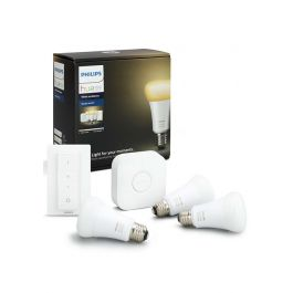 Philips Starter KIT 3 Set Dim Switch E27 White Ambiance 9W