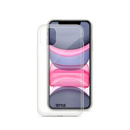 iSTYLE Hero case iPhone 11 - Transparent