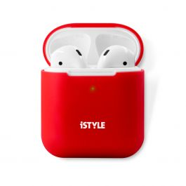 iSTYLE Silicone Cover AirPods 2nd gen - Red