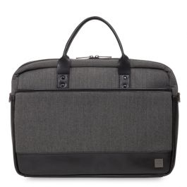 "Knomo PRINCETON Laptop Brief for MacBook Pro 15"" Retina - Grey"