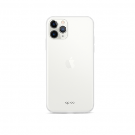 EPICO SILICONE CASE iPhone 11 Pro - transparent white
