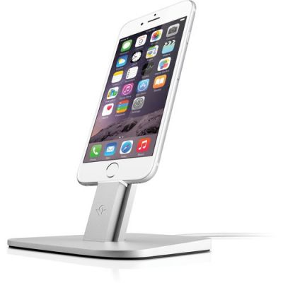 TwelveSouth HiRise za iPhone i iPad - Srebrna