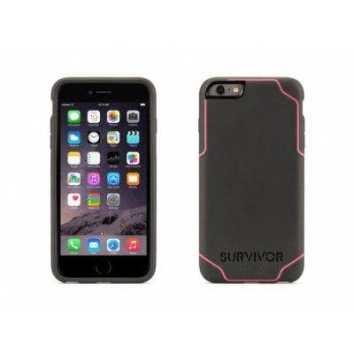 Griffin Survivor Journey for iPhone 6 Plus/6s Plus - Deep Grey/Fluoro Pink