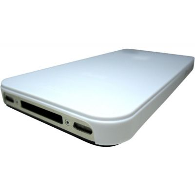 Pinlo - Slice3 Lumino case for iPhone 4/4S - Clear