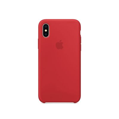 iPhone X Silicone Case - (PRODUCT)RED