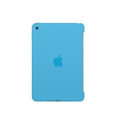 Apple - iPad mini 4 Silicone Case - Blue
