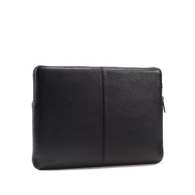 Decoded Leather Slim Sleeve for MacBook 13inch - Black