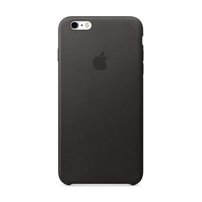 Apple - iPhone 6s Plus Leather Case - Black
