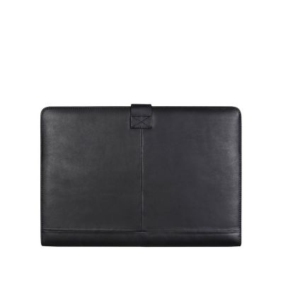 Decoded Leather Slim Cover for MacBook Pro 13-inch - Black