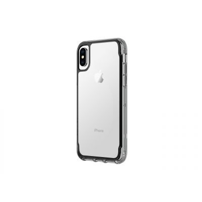 Griffin Survivor Clear za iPhone X - Black/Smoke/Clear