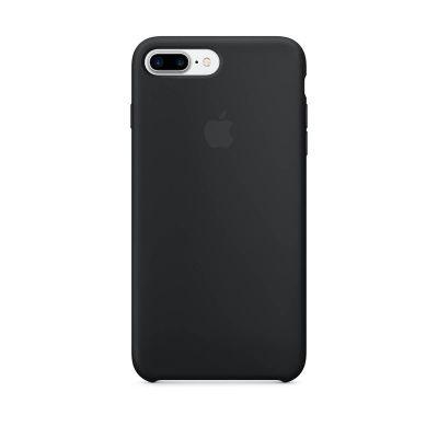 Apple - iPhone 7 Plus Silicone Case - Black