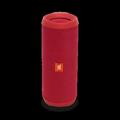 JBL Flip 4 Waterproof Portable Bluetooth Speaker - Red