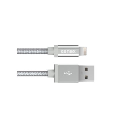 Kanex Premium USB Cable with Lightning Connector - Silver