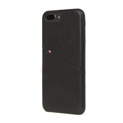 Decoded Leather back cover for iPhone 7 Plus - Black