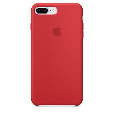 iPhone 8 Plus / 7 Plus Silicone Case - (PRODUCT)RED