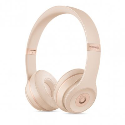 Beats - Solo3 Wireless On-Ear Headphones - Matte Gold