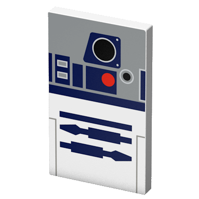 Tribe Star Wars R2D2 4000mAh Power Bank - Gray