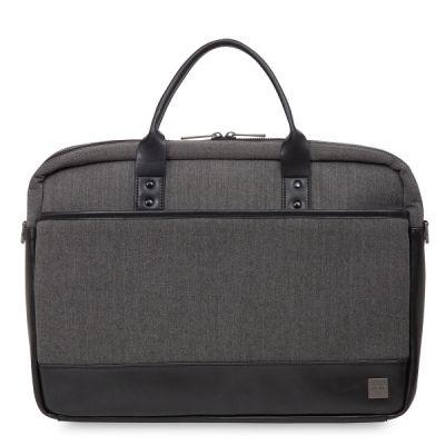 "Knomo PRINCETON Laptop Brief for MacBook Pro 15"" Retina - Grey"