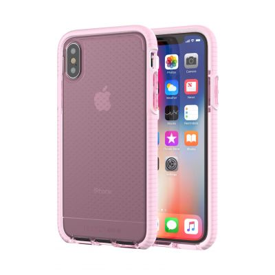 Tech21 Evo Check Case for iPhone X - Rose Tint