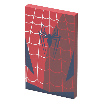 Tribe Marvel Spiderman 4000mAh Power Bank - Red