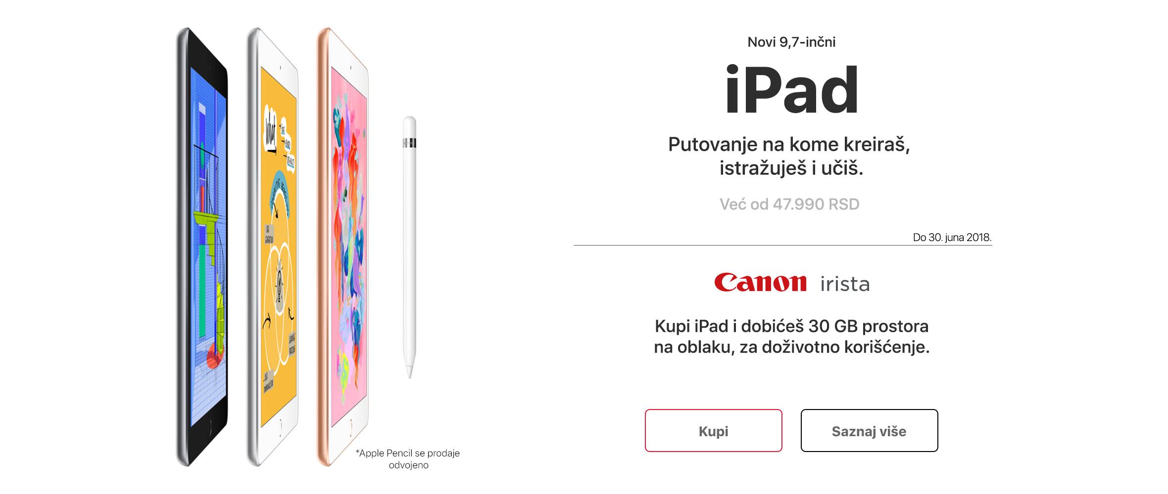 RS - iPad i 30 GB u oblaku